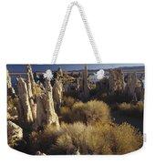 Ttufa Formations Mono Lake California Weekender Tote Bag
