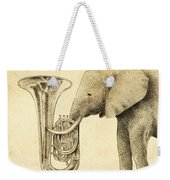 Tuba Weekender Tote Bag by Eric Fan