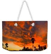 Tucson Arizona Sunrise Fire In The Sky Weekender Tote Bag