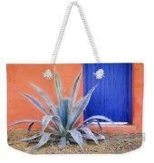 Tucson Barrio Blue Door Painterly Effect Weekender Tote Bag