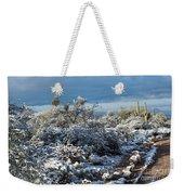 Tucson Covered In Snow Weekender Tote Bag