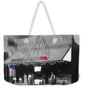 Tucson Gas And Electric Company In Tucson C. 1913 The Year Villa Visited Tucson -2010 Weekender Tote Bag