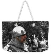 Tudor Knight In Armor  V1 Weekender Tote Bag