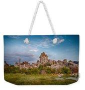 Tufa And Clouds Weekender Tote Bag