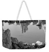 Tufa In Black And White Weekender Tote Bag