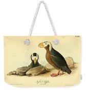 Tufted Puffins Weekender Tote Bag by Philip Ralley