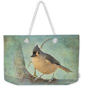 Tufted Titmouse IIi Weekender Tote Bag