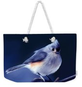 Tufty The Titmouse Weekender Tote Bag