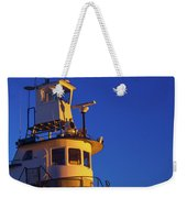 Tug Boat At Dawn, Cape Ann, Gloucester Weekender Tote Bag