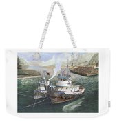 Gale Warning Safe Harbor Weekender Tote Bag