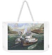 Gale Warning Safe Harbor Weekender Tote Bag