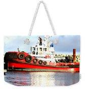 Tugboat Captain Weekender Tote Bag