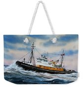 Tugboat Island Commander Weekender Tote Bag