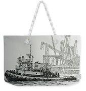 Tugboat Martha Foss Weekender Tote Bag