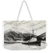 Skagit Chief Tugboat Weekender Tote Bag