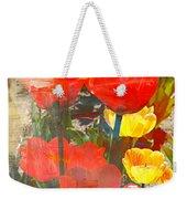 Tulip Abstracts Weekender Tote Bag