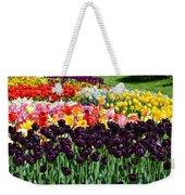 Tulip Field 1 Weekender Tote Bag