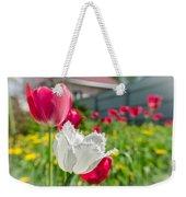 Tulip Garden Weekender Tote Bag by Michael Goyberg