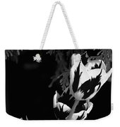 Tulip Group In Black And White Weekender Tote Bag