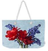 Tulip Macro 2 Weekender Tote Bag