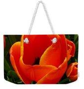 Tulip Orange Flower Weekender Tote Bag
