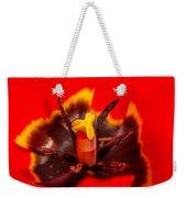 Tulip Stamp Weekender Tote Bag