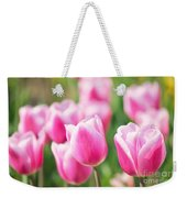 Tulip Time Weekender Tote Bag by Angela Doelling AD DESIGN Photo and PhotoArt