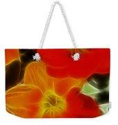 Tulips-6681-fractal Weekender Tote Bag