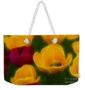 Tulips-6758-fractal Weekender Tote Bag