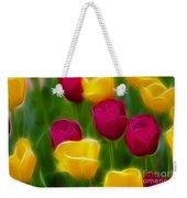 Tulips-6768-fractal Weekender Tote Bag