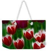 Tulips-6823-fractal Weekender Tote Bag