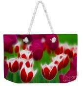 Tulips-6848-fractal Weekender Tote Bag