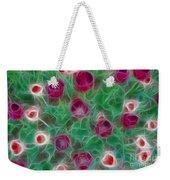 Tulips-6867-fractal Weekender Tote Bag
