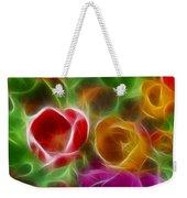 Tulips-6944-fractal Weekender Tote Bag