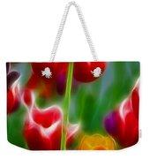 Tulips-7069-fractal Weekender Tote Bag