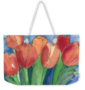 Tulips After The Rain Weekender Tote Bag