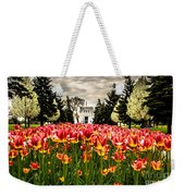 Tulips And Building Weekender Tote Bag