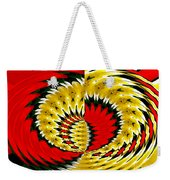 Tulips And Daffodils Polar Coordinates Effect Weekender Tote Bag