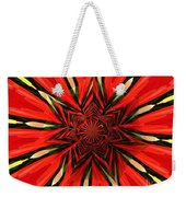 Tulips And Daffodils Under Star Glass Weekender Tote Bag