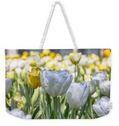 Tulips At Dallas Arboretum V28 Weekender Tote Bag