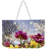 Tulips At Dallas Arboretum V46 Weekender Tote Bag