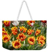 Tulips At Dallas Arboretum V71 Weekender Tote Bag