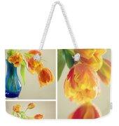 Tulips Collage Weekender Tote Bag