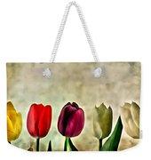 Tulips Color Weekender Tote Bag