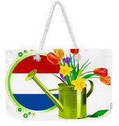 Tulips Eco Weekender Tote Bag