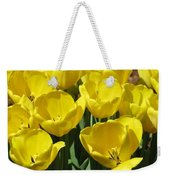 Tulips - Field With Love 18 Weekender Tote Bag