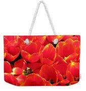 Tulips - Field With Love 28 Weekender Tote Bag