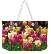 Tulips - Field With Love 35 Weekender Tote Bag