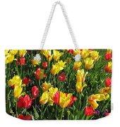 Tulips - Field With Love 49 Weekender Tote Bag