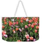 Tulips - Field With Love 55 Weekender Tote Bag
